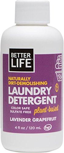 Better Life Laundry Detergent, Lavender Grapefruit, 4 Ounces