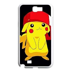 Pikachu Samsung Galaxy N2 7100 Cell Phone Case White UD1376269
