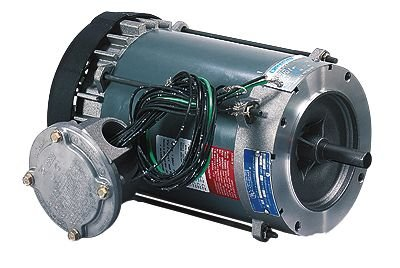 Explosion-Proof Single-Phase TEFC Motor, 56C, 0.75 HP/3600 rpm; 115/208-230 V