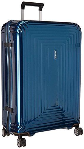 (Samsonite Neopulse Hardside Spinner 75/28, Metallic Blue)
