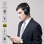 Cuffie-Wireless-Bluetooth-50-Cancellazione-Attiva-del-RumoreSrhythm-NC75-Pro-ANC-Over-Ear-con-CVC80-Microfono-Stereo-Hi-FiCarica-Rapida-40-ore-di-Lavoroper-iPhoneAndroidPCTV-2019-Aggiornato