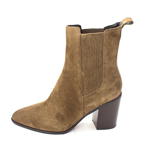 Pointed Marc Green Chelsea Womens Suede Toe Boots Ankle Leather Alisa Dark Fisher SBRqB1