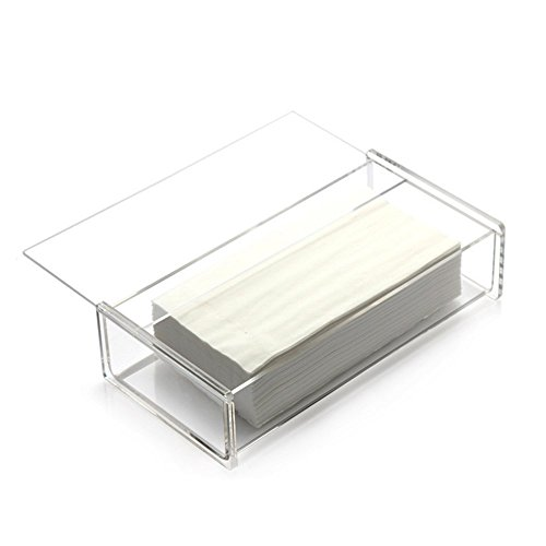 30%OFF AUTRA Tissue Dispenser Box Rectangle Clear Acrylic Tissue Box    Decorative Napkin Holder