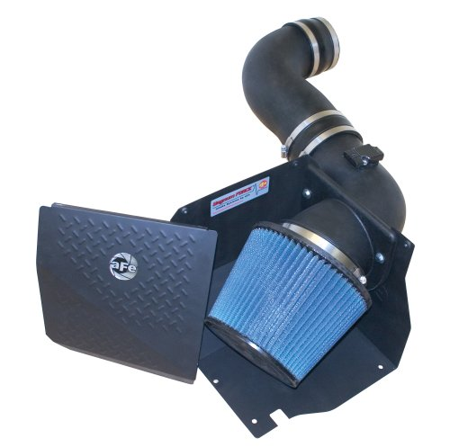 aFe Power Magnum FORCE 75-10882 GM Diesel Truck 06-07 V8-6.6L (td) LLY/LBZ Performance Intake System (Oiled, 7-Layer Filter)