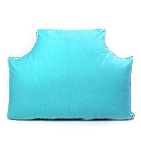 Headboard Pillow - Aqua Queen
