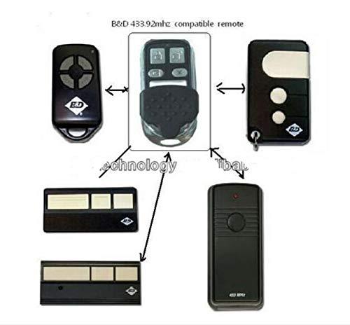 Calvas BND B&D garage doors,openers Roller doors replacement remote control very good