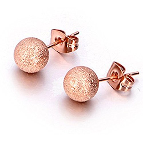 Jewels Round Fashion Stainless Earrings