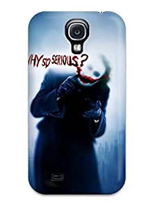 CaseyKBrown Case Cover For Galaxy S4 - Retailer Packaging The Joker, Why So Serious Protective Case