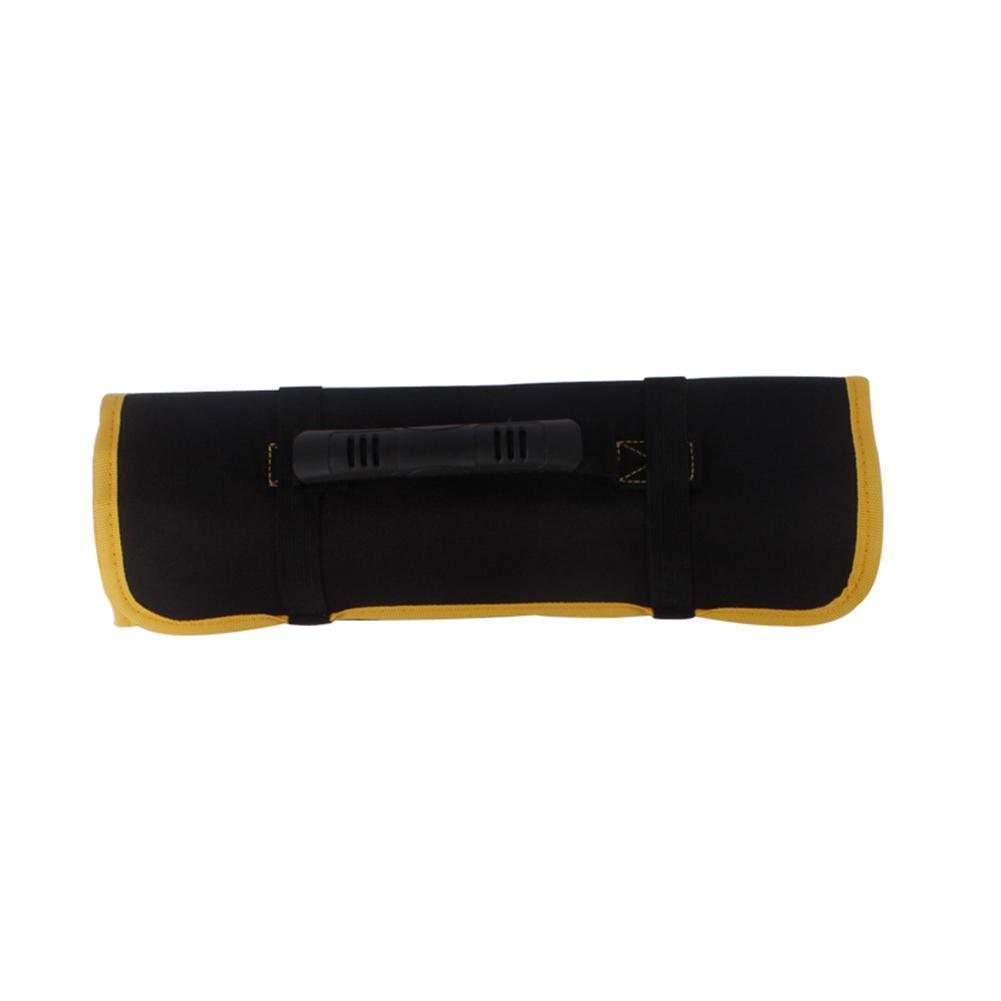 Sacoche Enroulable Trousse Sac /à Outils Porte-Outils Rouleau Poche de Rangement Multi-usages Pliable