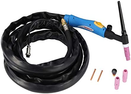 WP-26V-25R 200Amp Air-Cooled TIG Welding Torch Gas-Valve Control Head Body