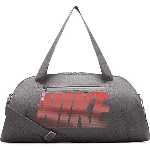 NIKE Women's Gym Club Duffel Bag, Black/Black/White, One Size
