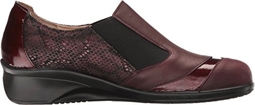 patent Bordo bordo Women's Slip bordeaux Finn on python Algave Comfort Edina zwfqAZT
