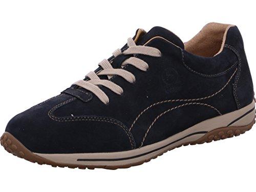 Gabor Confort, 06.385.46 Sneaker En Cuir Damen Blau