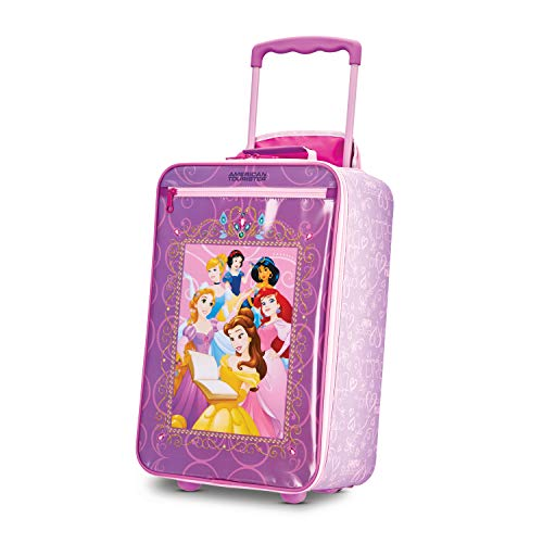 Disney Princess Kids (American Tourister Disney Kids Princess Softside Upright, 18 Inch,)