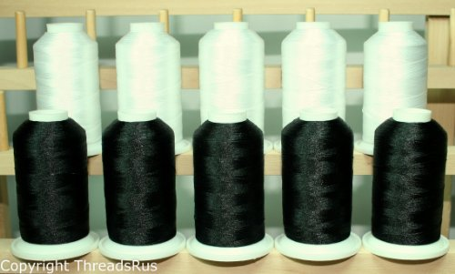 Poly Embroidery Thread - 5