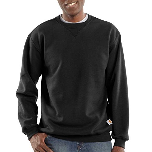 Carhartt Men's Big & Tall Midweight Crewneck Sweatshirt,Black,3X-Large/Tall for sale  Delivered anywhere in USA