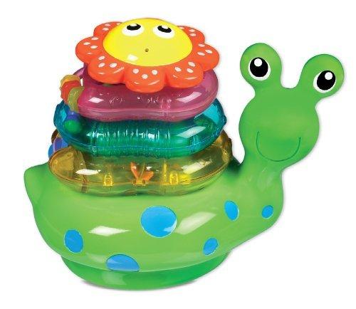 Snail Flotteurs debout dans l'eau - Munchkin Snail Stacker Toy Bath