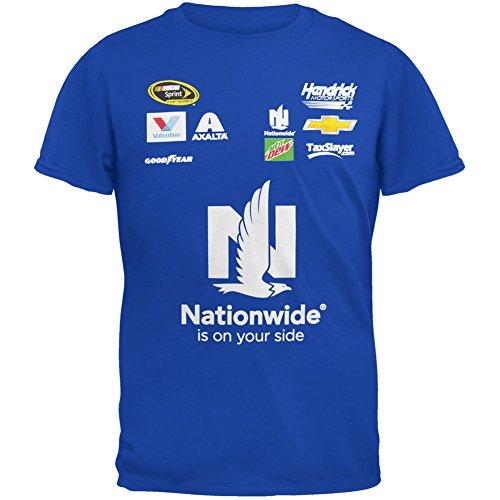 NASCAR Dale Earnhardt Jr. Hendrick Motorsports Team Collection Uniform T-Shirt - Royal-Medium