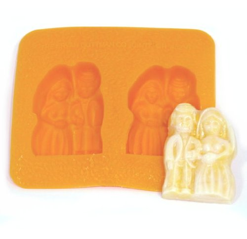 Bride And Groom Candy Molds - Bride and Groom Flexible Mold