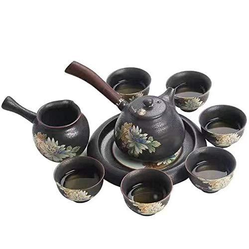 Home&garden accessories Imitation Ancient Kiln Ceramics Kung Fu Teapot Teacup Set by JIANGHONGYAN