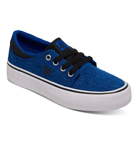 Dc Shoes Trase Tx Se Zapatillas De Caña Baja, Color: Blue/Black/White, Size: 27 EU (10.5 US / 9.5 Child UK)