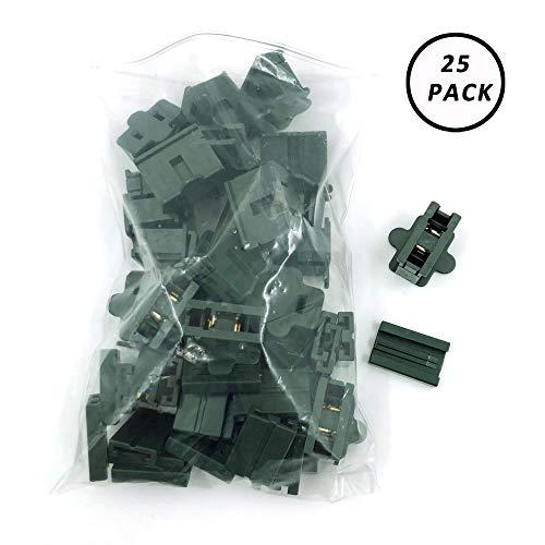 (Aniai (25) Pack Zip Plug - Male Female Gilbert plug - Vampire plug SPT-1 SPT-2 (spt1 female, Green))