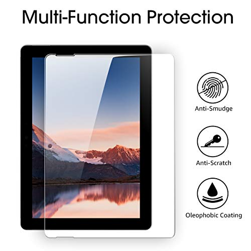 Surface Go Screen Protector,Tempered Glass Screen Protector for Microsoft Surface Go 2018 Released [2-Pack] [Clear and Anti Blue] [Installation Wings][ Scratch-Resistant] by Pulais (Image #5)