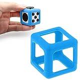 Mandy Fidget Cube Stress Relief Focus Toy Protective Cover Case Blue