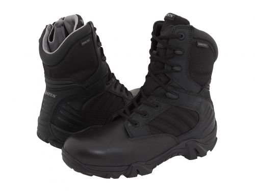 Bates Footwear(ベイツ) メンズ 男性用 シューズ 靴 ブーツ 安全靴 ワーカーブーツ GX-8 GORE-TEX(R) Side-Zip Black [並行輸入品] B07DNQ95XV 12 EE Wide