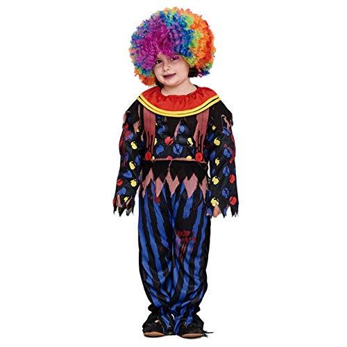 Disfraz Payaso Forzudo Halloween Infantil (4-6 años) (+Tallas ...