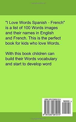 I Love Words Spanish French Spanish And French Edition Gilad Soffer  Amazon Com Books