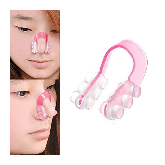Generic Silica Gel Soft Lift Nose Up Shaper Lifting Bridge Clip