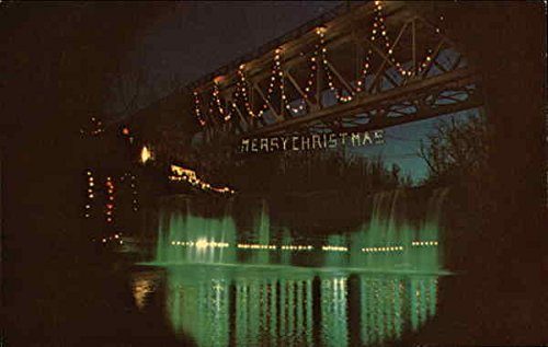 Image Unavailable. Image not available for. Color: Annual Christmas  Lighting Ludlow Falls, Ohio ... - Amazon.com: Annual Christmas Lighting Ludlow Falls, Ohio Original