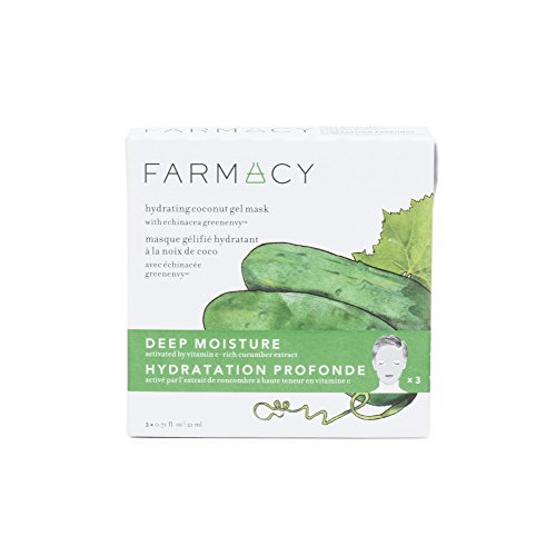 Farmacy Hydrating Coconut Gel Natural Face Mask - Deep Moisture (Cucumber)