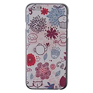 Colored Drawing Pattern PC Hard Cover for iPhone 6 Case 4.7 inch