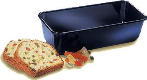 robuste Brotbackform Kuchenform f/ür saftige Kuchen und deftige Brote Serie Back-Liebe Emaille Menge: 1 St/ück Kastenform 25 cm