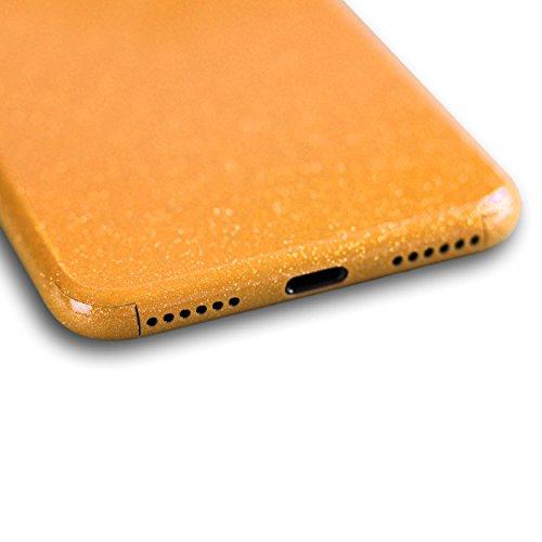 AppSkins Rückseite iPhone 7 Full Cover - Diamond pure gold