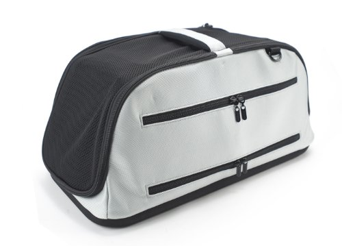 best sleepypod air in cabin pet carrier glacier silver