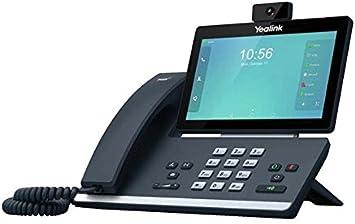 Yealink Sip-T58V - Teléfono IP, color negro: Amazon.es: Electrónica