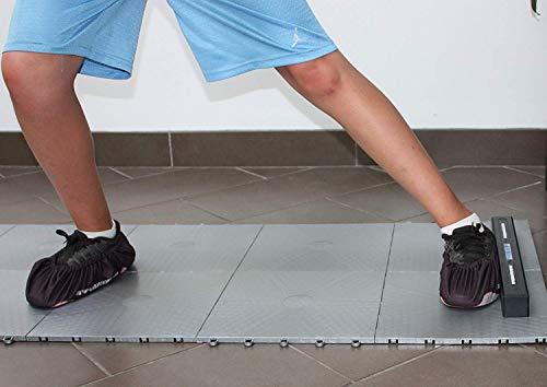 Hockey Revolution Adjustable Length Training Tiles - MY SLIDE BOARD (Slide Board Exercise Trainer)