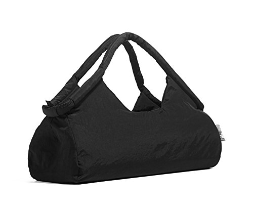 Duffle Bag Women for Gym, Travel and Yoga studio 3 IN ONE black