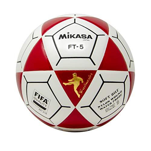 (Mikasa FT5 Goal Master Soccer Ball, Red/White, Size 5)
