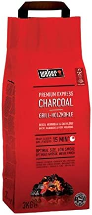 Weber 3 kg Premium Express Charcoal