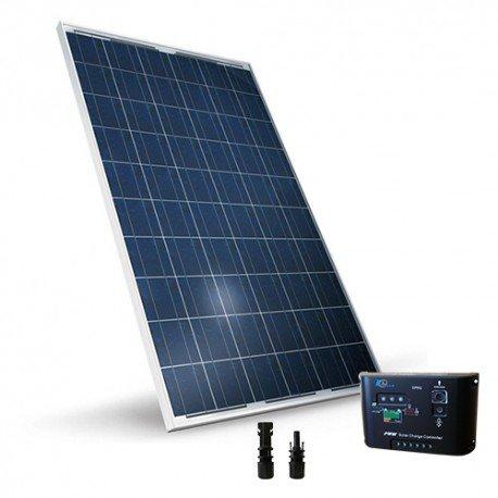 Solar Kit base 260W 24V Photovoltaik Regler 10A PWM