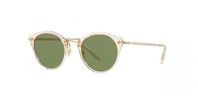 b1d50d7d725b Amazon.com  Oliver Peoples OP-505 Sunglasses Buff Green C (Buff ...