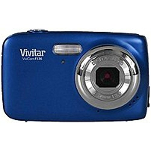 Vivitar ViviCam VS126-BLU S126 16.0 Megapixel Digital Camera - 4x Digital Zoom - 1.8-inch LCD Display - EFL: 7 mm Lens - Blue Digital Blue Vivitar Vivicam