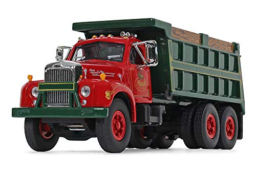 First Gear 1/64 Scale Mack Trucks, Inc. Mack B-61 Dump Truck (60-0404)
