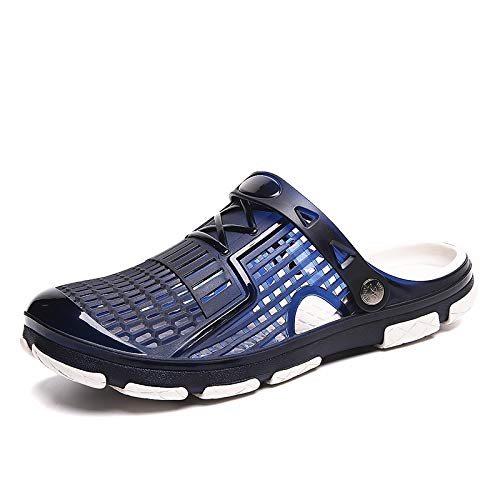 KCatsy ZEACAVA Explosion Models Male Sandals Cross-Border Large Size Beach Shoes Blue