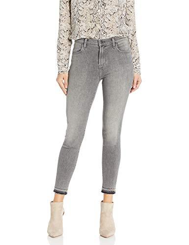 J Brand Jeans Womens Alana High Rise Crop Skinny in Earl Grey