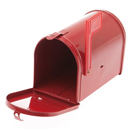 Fun Express Little Red Tinplate Mailbox
